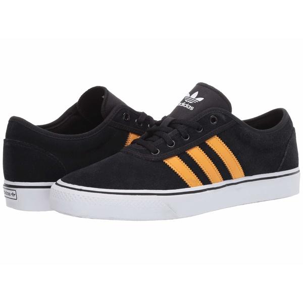 アディダス メンズ スニーカー シューズ Adi-Ease Core Black/Tactile Yellow F17/Footwear White