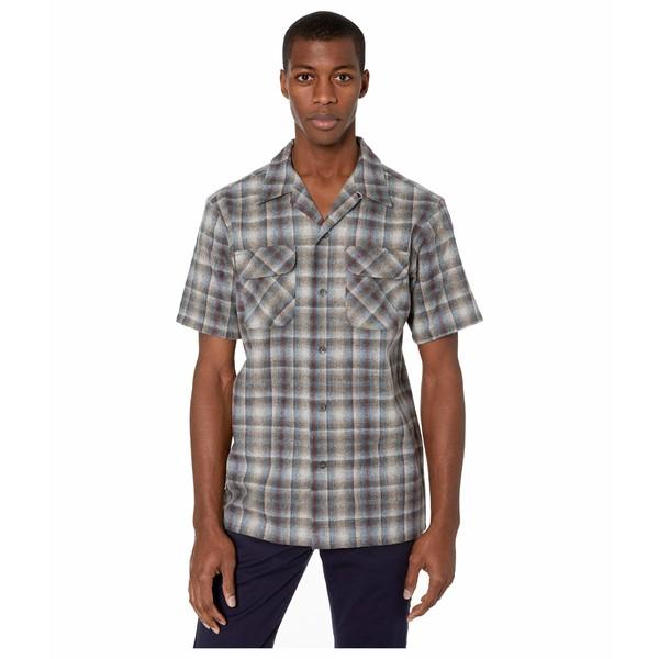 ペンドルトン メンズ シャツ トップス Short Sleeve Board Shirt Grey Multi Ombre