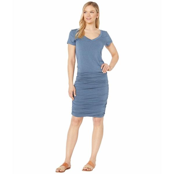 プラーナ レディース ワンピース トップス Foundation Dress Nickel Heather
