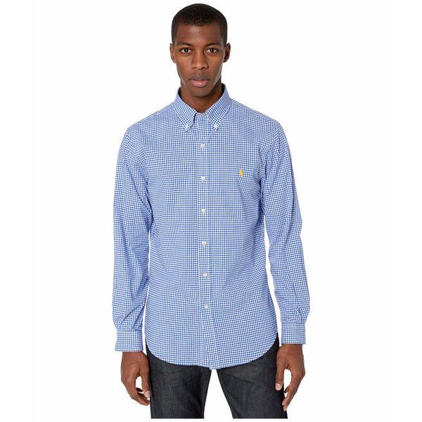 ラルフローレン メンズ シャツ トップス Slim Fit Poplin Shirt Multi 2