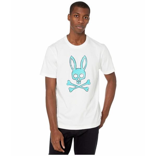 サイコバニー メンズ シャツ トップス Sherwood T-Shirt White