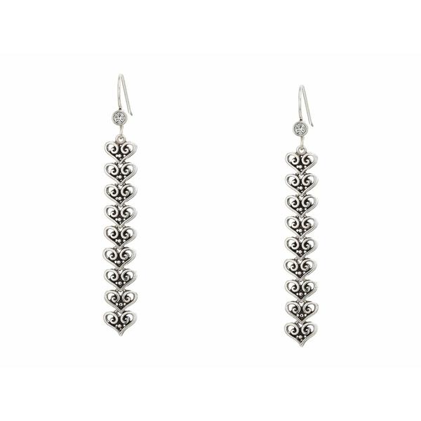 ブライトン レディース ピアス&イヤリング アクセサリー Alcazar Medley French Wire Earrings Crystal