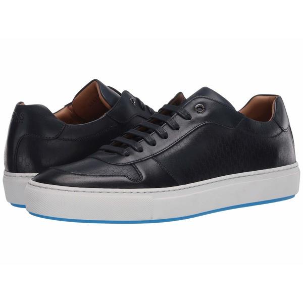 ヒューゴボス メンズ スニーカー シューズ Mirage Low Top Sneaker by BOSS Dark Blue