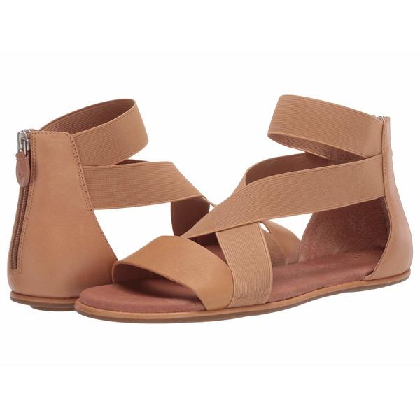 ケネスコール レディース サンダル シューズ Break Elastic Sandal Tan Leather