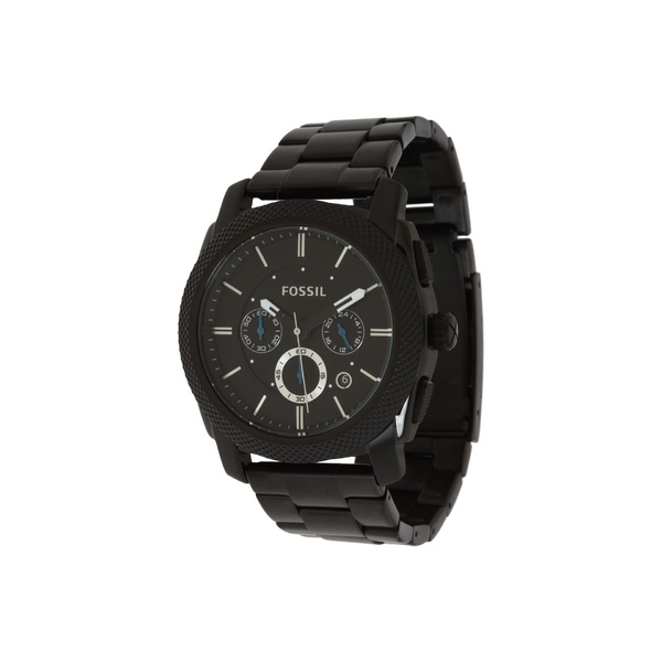 フォッシル メンズ 腕時計 アクセサリー Machine Chronograph Watch FS4552 Black Stainless Steel