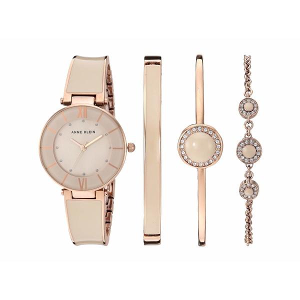 アンクライン レディース 腕時計 アクセサリー Blush Pink Watch and Bracelet Set Blush/Rose Gold-Tone