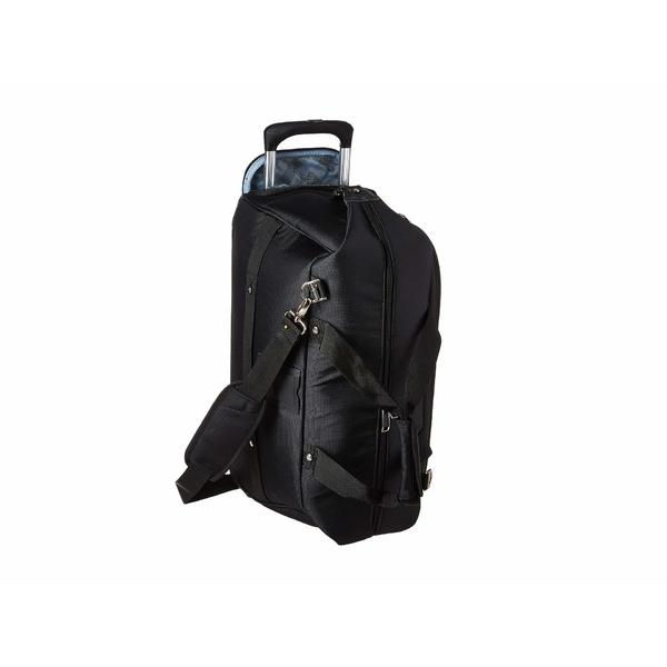 トラベルプロ メンズ ボストンバッグ バッグ Maxlite 5 - Carry-On Rolling Duffel Black