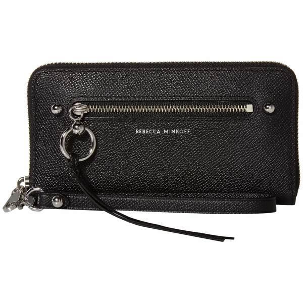 レベッカミンコフ レディース 財布 アクセサリー Gabby Phone Wallet Black