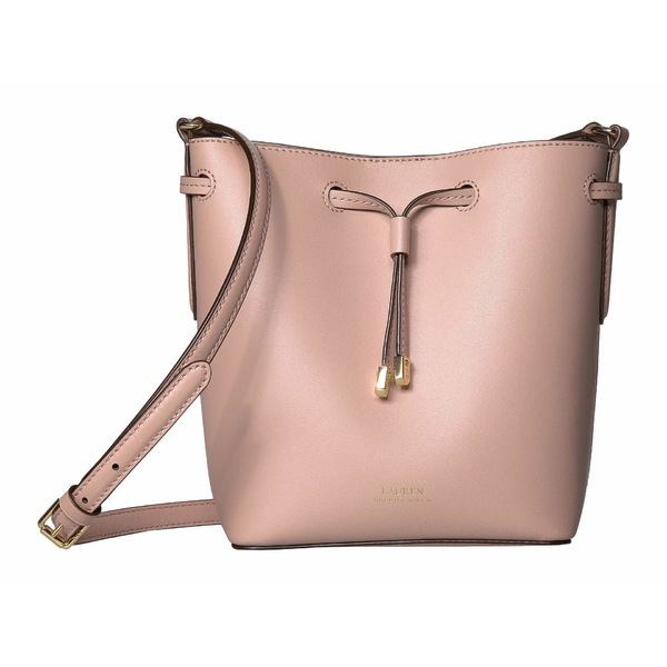 ラルフローレン レディース ハンドバッグ バッグ Dryden Debby II Mini Drawstring Mellow Pink/Porcini