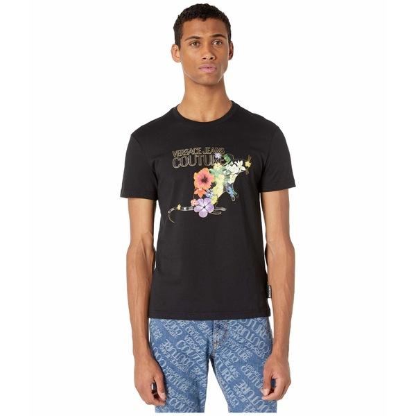 ベルサーチ メンズ シャツ トップス Chinese New Year T-Shirt Black