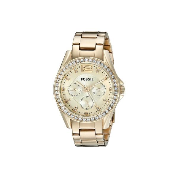 フォッシル レディース 腕時計 アクセサリー Riley Multi-function Watch ES3203 Gold Stainless Steel