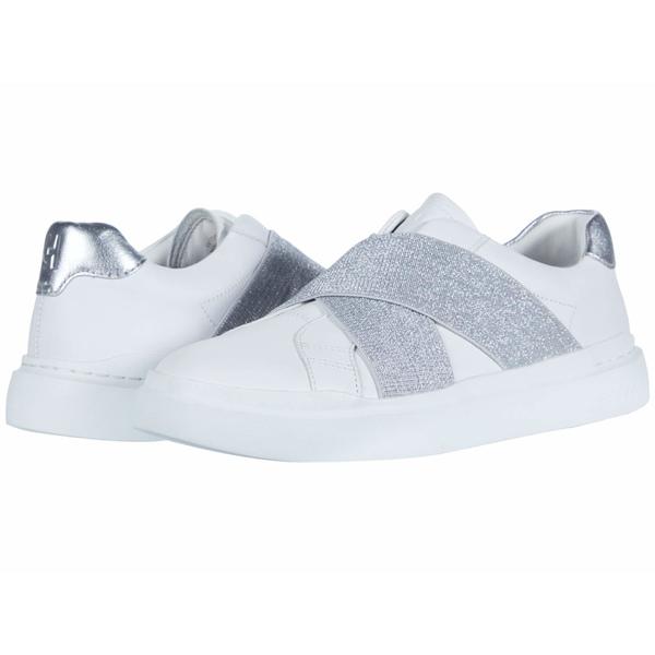 コールハーン レディース スニーカー シューズ Grandpro Rally Slip-On Sneaker Optic White/Silver/Optic White