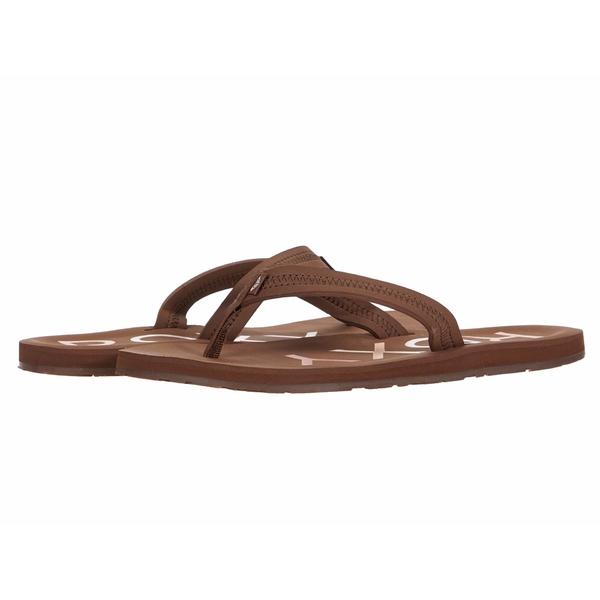 ロキシー レディース サンダル シューズ Vista III Chocolate Brown/Medium Pink