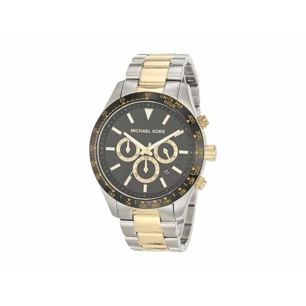 マイケルコース メンズ 腕時計 アクセサリー Layton Chronograph Stainless Steel Watch Silver/Gold Tone