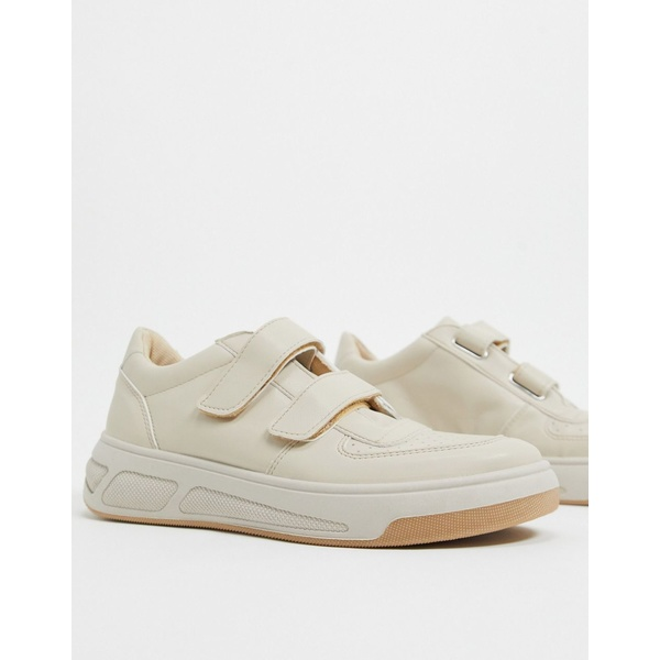 エイソス レディース スニーカー シューズ ASOS DESIGN Dario skater sneakers in beige Beige drench