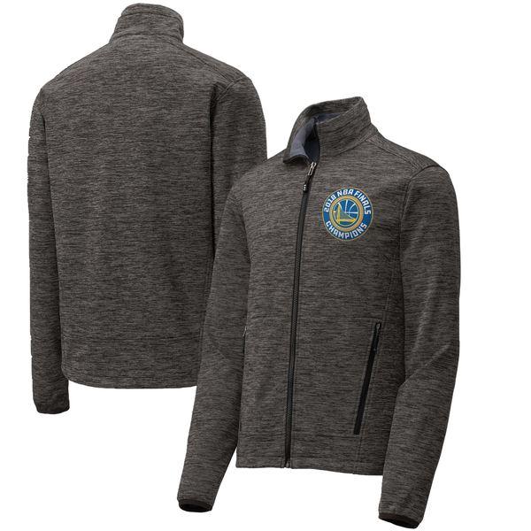 ファナティクス メンズ ジャケット&ブルゾン アウター Golden State Warriors Fanatics Branded 2018 NBA Finals Champions Man to Man Soft Shell FullZip Jacket Black