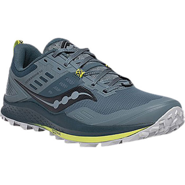 サッカニー メンズ スニーカー シューズ Peregrine 10 Trail Running Shoe Steel Trail Specific Mesh