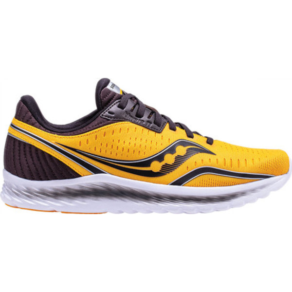サッカニー メンズ スニーカー シューズ Kinvara 11 Running Sneaker Yellow Engineered Mesh