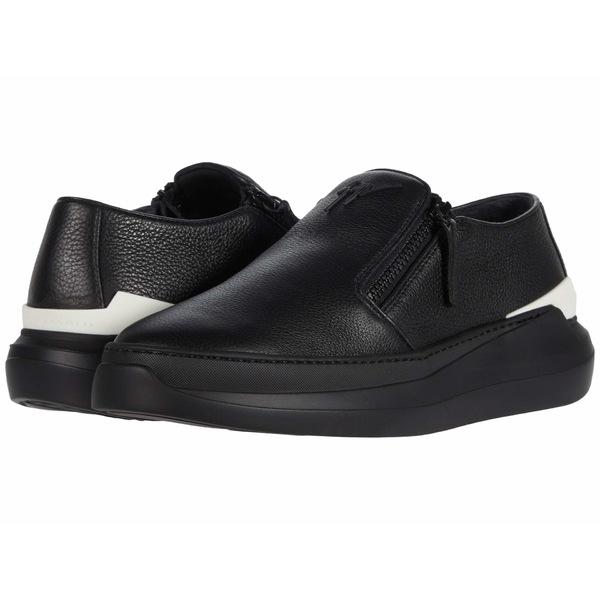 ジュゼッペザノッティ メンズ シューズ スニーカー Black EU00063A ついに入荷 半額 White 全商品無料サイズ交換