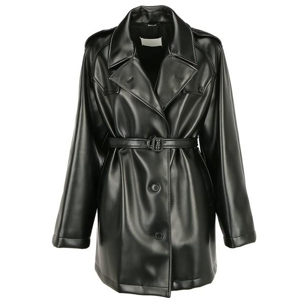 マルタンマルジェラ レディース ジャケット&ブルゾン アウター Maison Margiela Kaban Coat Black