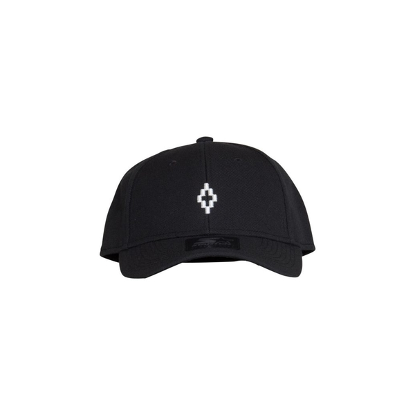 マルセロバーロン メンズ 帽子 アクセサリー Marcelo Burlon County Of Milan Starter Cross Cap In Black NERO
