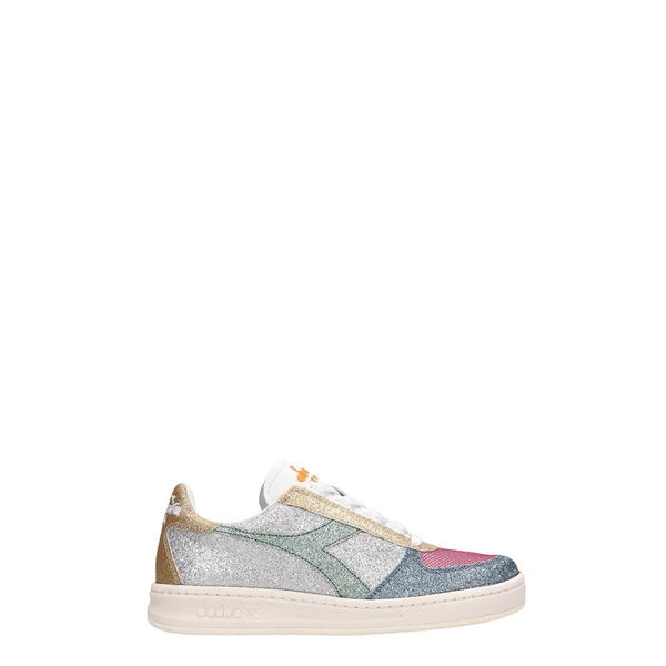 ディアドラ レディース スニーカー シューズ Diadora Glitter Leather B.elite Sneakers multicolor