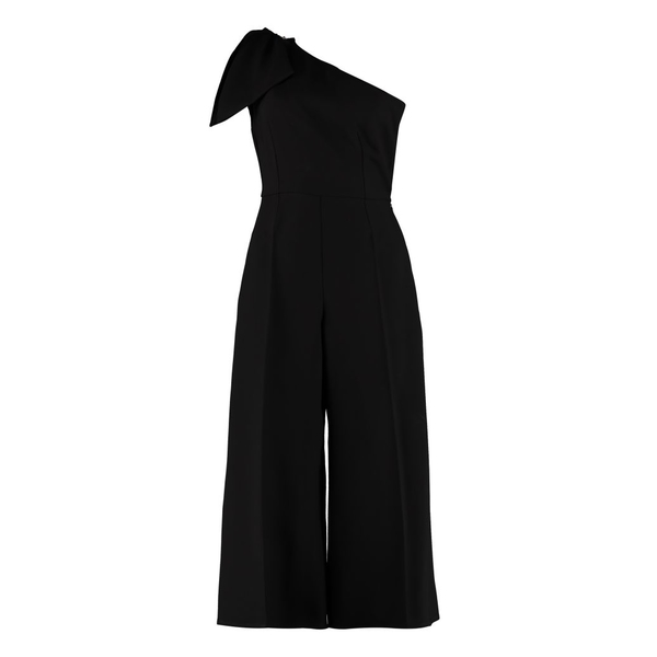 エリザベッタフランキ レディース ワンピース Elisabetta トップス Elisabetta Franchi One-sleeve Celyn Franchi B. One-sleeve Jumpsuit With Bow black, イージーブラインド:2acdf0d1 --- officewill.xsrv.jp