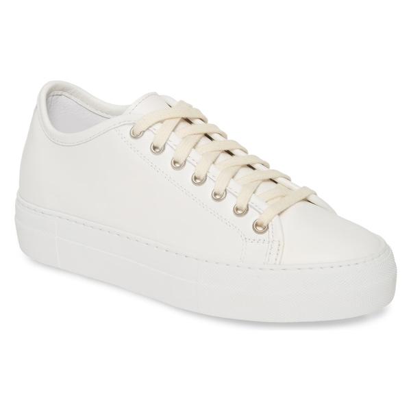 ソフィードール レディース D'Hoore スニーカー Platform シューズ Sofie D'Hoore Platform Sneaker (Women) White White, 【後払い手数料無料】:e45d7b26 --- wap.assoalhopelvico.com