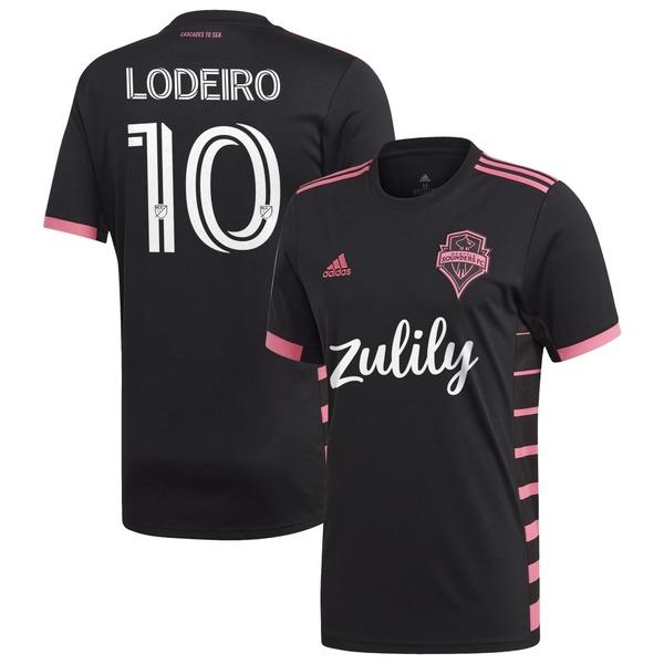 アディダス メンズ ユニフォーム トップス Nicols Lodeiro Seattle Sounders FC adidas 2020 Nightfall Replica Player Jersey Black