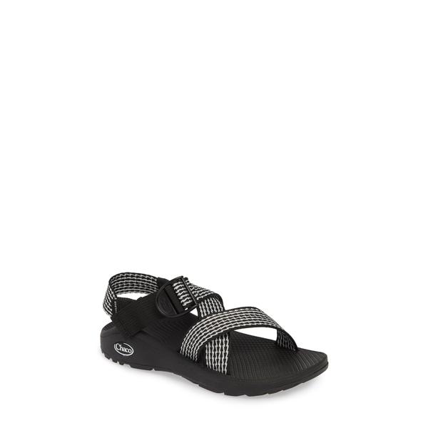 チャコ レディース サンダル シューズ Mega Z/Cloud Sport Sandal Prong Black Fabric