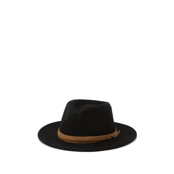 フライ レディース 帽子 アクセサリー Felt Wool Panama ONYX - BLACK