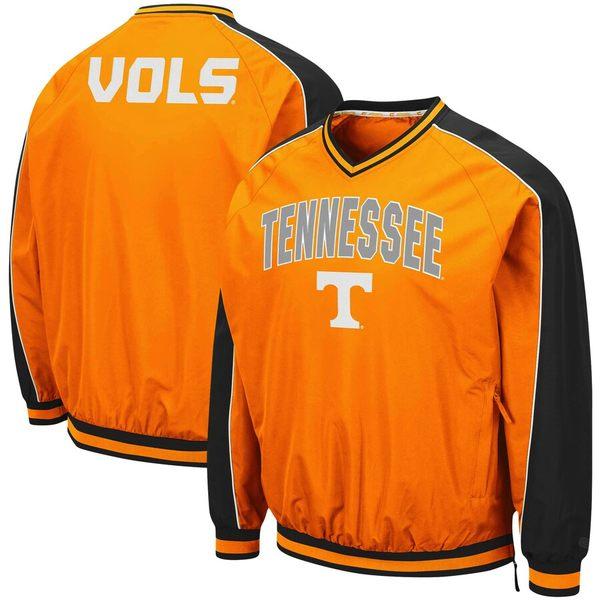 コロシアム メンズ ジャケット&ブルゾン アウター Tennessee Volunteers Colosseum Duffman Pullover Windbreaker Tennessee Orange