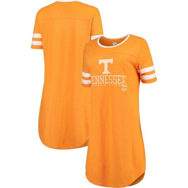 ローレンジェームス レディース ワンピース トップス Tennessee Volunteers Lauren James Women's Team Connery Tri-Blend Dress Heathered Tennessee Orange
