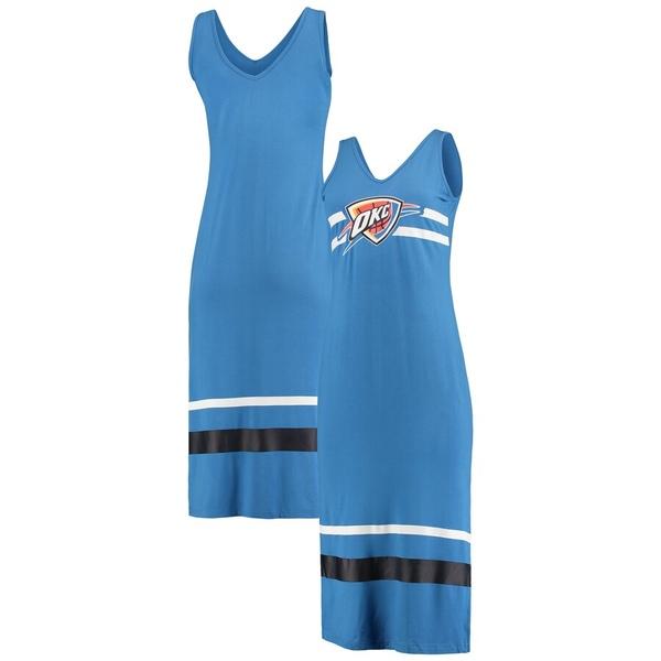 カールバンクス レディース ワンピース トップス Oklahoma City Thunder G-III 4Her by Carl Banks Women's Maxi Dress Blue/Navy