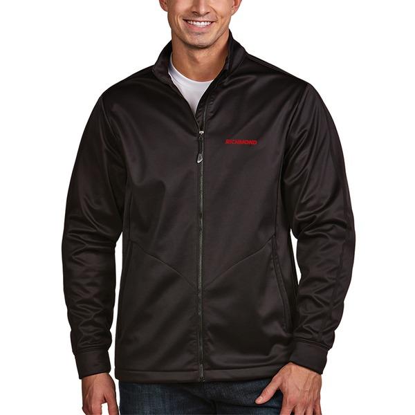 アンティグア メンズ ジャケット&ブルゾン アウター Antigua Richmond Raceway Golf FullZip Jacket Silver