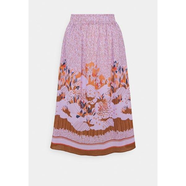 ノアノア レディース スカート ボトムス CREPE - Maxi skirt - lavender
