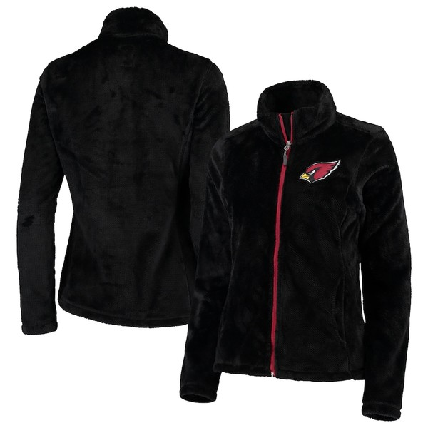 カールバンクス レディース ジャケット&ブルゾン アウター Arizona Cardinals G-III 4Her by Carl Banks Women's Goal Line Full-Zip Jacket Black