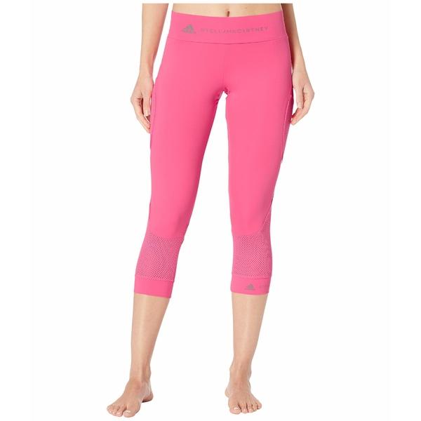 アディダス レディース カジュアルパンツ ボトムス Performance Essential 3/4 Tights FS7579 Solar Pink