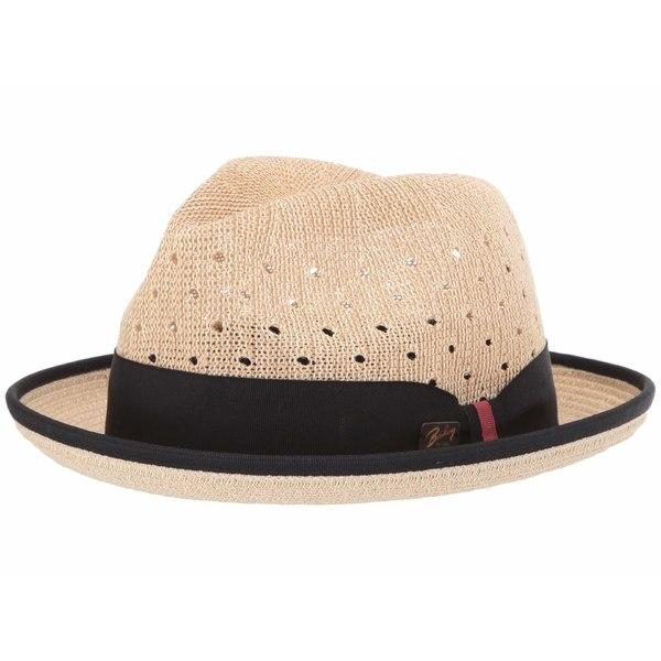ベーリー オブ ハリウッド メンズ 帽子 アクセサリー Bascom Natural