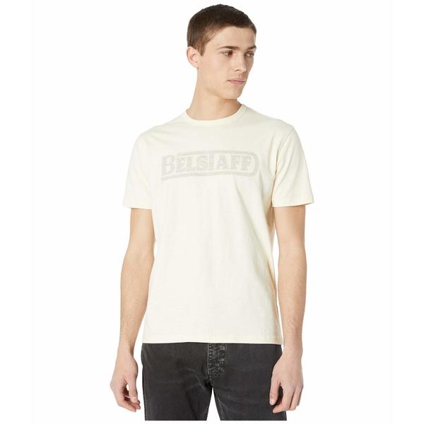 ベルスタッフ メンズ シャツ トップス Belstaff Applique T-Shirt Ecru