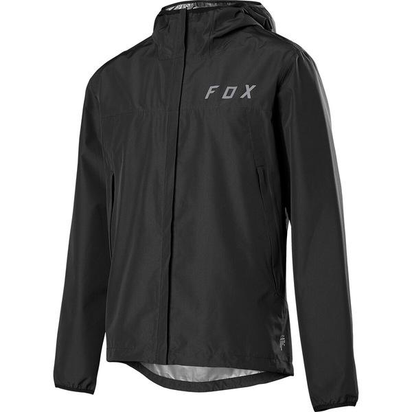 フォックスレーシング メンズ スポーツ セール 特集 サイクリング Black 全商品無料サイズ交換 Men's Water 待望 Jacket Ranger 2.5L -