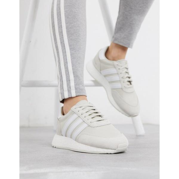 アディダスオリジナルス レディース スニーカー シューズ adidas Originals I-5923 sneakers in gray Raw white