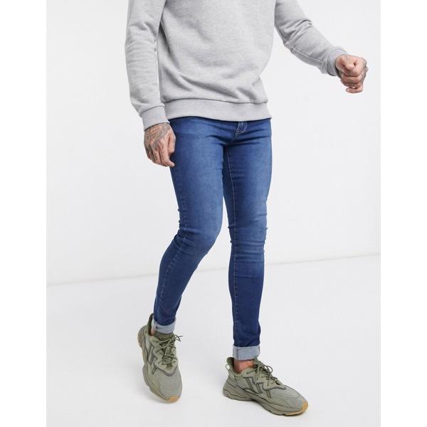 ドクターデニム メンズ デニムパンツ ボトムス Dr Denim Leroy super skinny jeans Blue