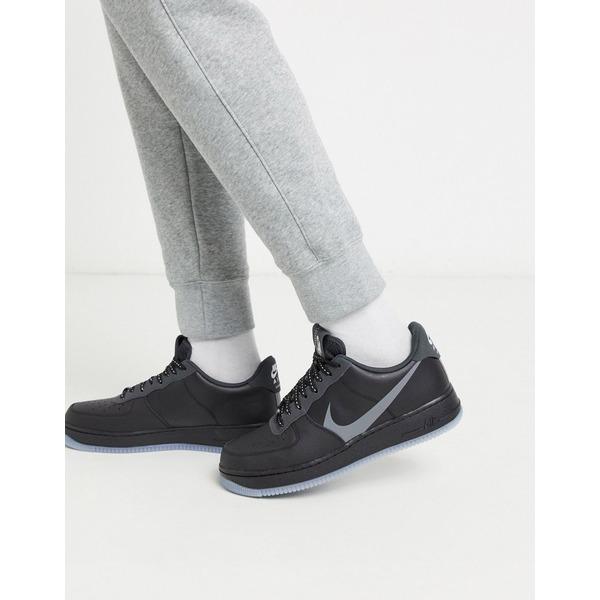 ナイキ メンズ スニーカー シューズ Nike Air Force 1 '07 LV8 3SP20 sneakers in black Black