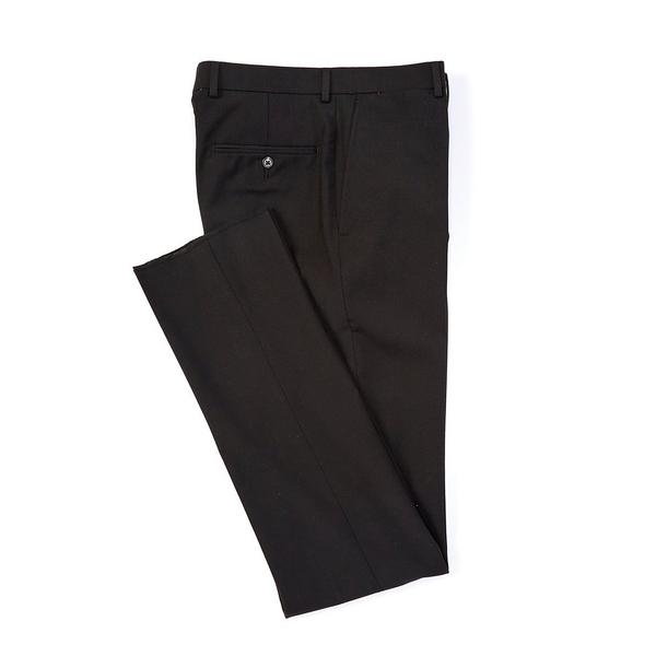 <title>ハートシャファネールマークス メンズ ボトムス カジュアルパンツ Black 全商品無料サイズ交換 New 驚きの値段で York Tailored Modern Fit Wool Flat-Front Dress Pants</title>
