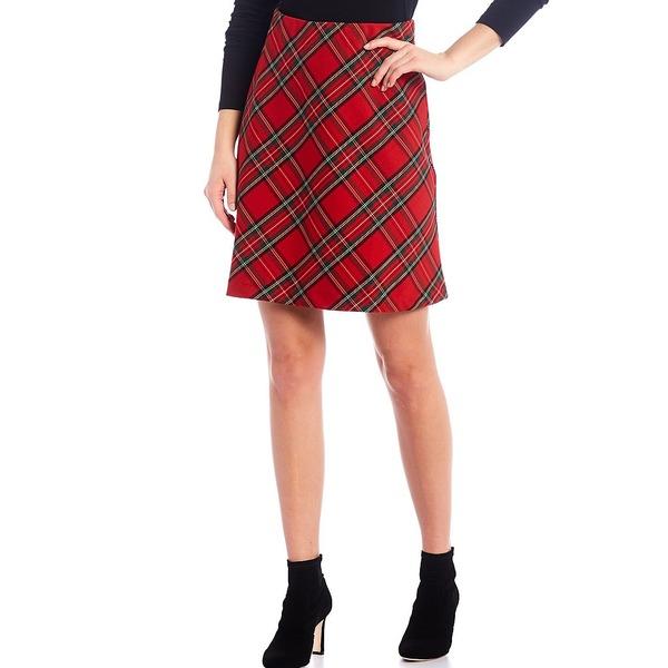 低廉 カレンケーン レディース ボトムス 店舗 スカート Plaid Cut Skirt Tartan 全商品無料サイズ交換 Bias