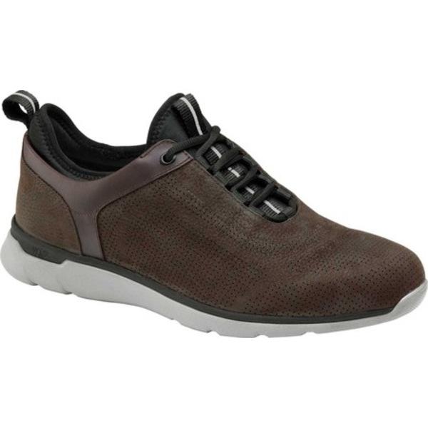 ジョンストンアンドマーフィー メンズ シューズ スニーカー Chocolate Nubuck Throat Sneaker Prentiss U AL完売しました Men's トラスト 全商品無料サイズ交換
