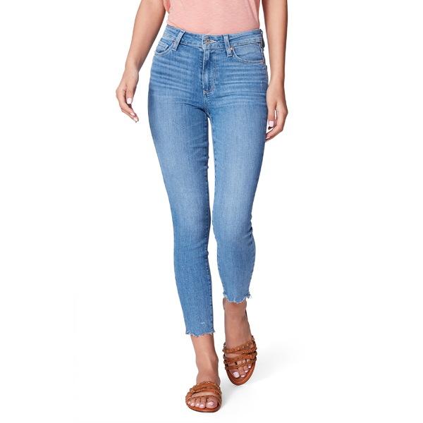 ペイジ レディース カジュアルパンツ ボトムス PAIGE Hoxton High Waist Crop Skinny Jeans (Jukebox) Jukebox Distressed Hem