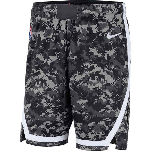 ナイキ メンズ ハーフ&ショーツ ボトムス San Antonio Spurs Nike City Edition Swingman Performance Shorts Black