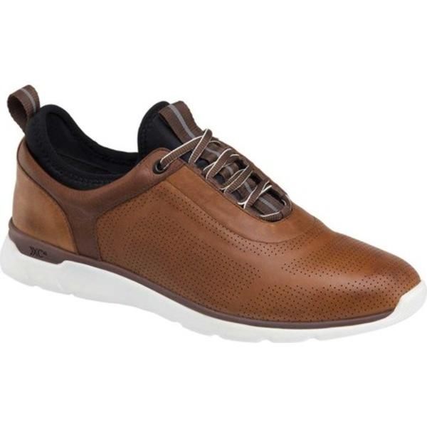 ジョンストンアンドマーフィー メンズ シューズ スニーカー Mahogany 2020 Waterproof 全商品無料サイズ交換 Men's 安い 激安 プチプラ 高品質 Leather Prentiss U-Throat Sneaker